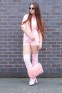Light-pink-thigh-high-public-desire-boots-light-pink-fluffy-in-the-style-bag