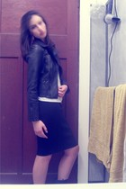 jacket - dress - skirt - skirt - shoes