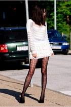 GINA TRICOT jumper - Local store skirt - Bershka pumps