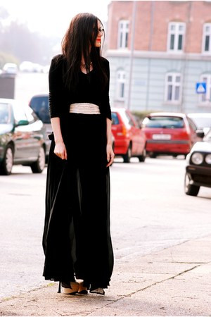black romwe dress