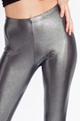 Black American Apparel Ts Shirts Silver American Apparel Leggings