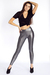 black American Apparel t-shirt - silver American Apparel leggings