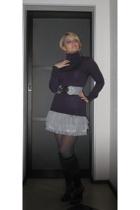 Reiss blazer - H&M shirt - belt
