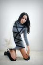 White-style2bb3-jacket-gray-style2bb3-dress-black-style2bb3-shorts-black-s