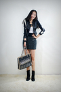 Black-style2bb3-jacket-gray-style2bb3-skirt-black-style2bb3-purse-black-st