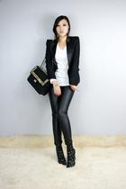 black style2bb3 blazer - black style2bb3 shoes