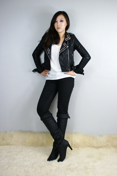 style2bb3 jacket - style2bb3 top - style2bb3 shoes