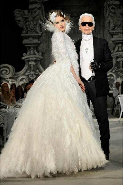White Chanel Dresses