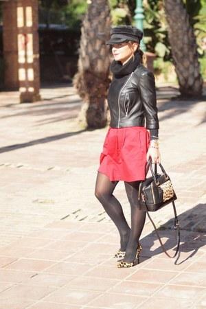 Zara jacket - Parfois bag