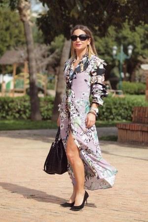 H&M dress - Zara heels
