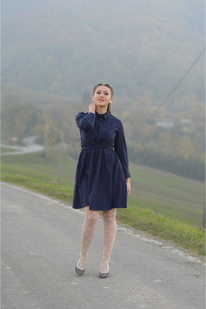 navy cotton dresslilycom dress