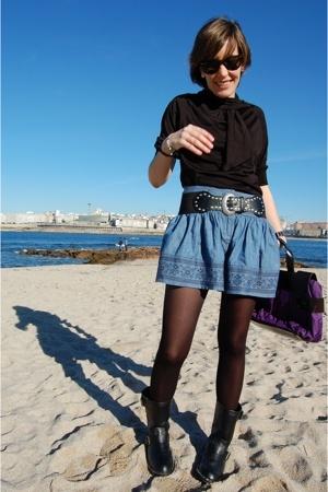 shirt - boots