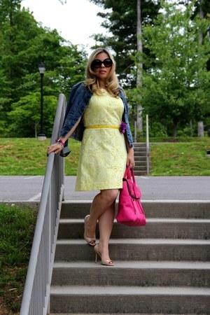 lace H & M dress