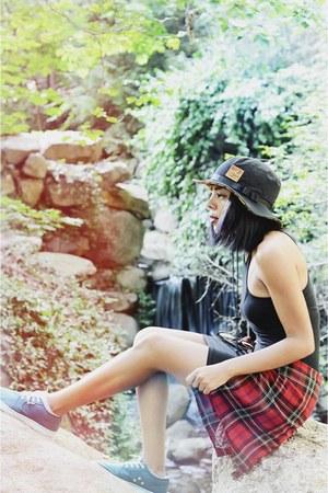 Vans hat - H&M dress - Airwalk sneakers