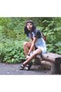 H-m-dress-madewell-scarf-ladakh-shorts-jeffrey-campbell-sandals