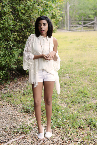 BDG shoes - Mossimo shorts - Love Culture cardigan