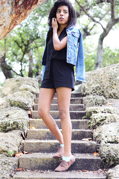 Mossimo shoes - Forever 21 shorts - Mossimo top