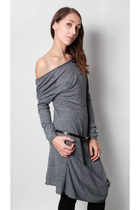 silver asymmetric Cristina Gavioli dress