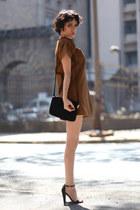 Let them starecom dress - Mango bag - asos heels