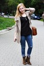 Army-green-leather-bershka-boots-blue-denim-zara-jeans
