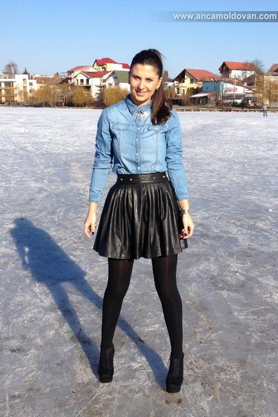 black Aida boutique skirt