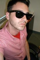 American Apparel shirt - American Apparel t-shirt - Ray Ban sunglasses - Levis j