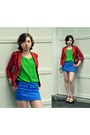 Mandee-blazer-spenser-jeremy-shirt-rue-21-skirt-candies-sandals
