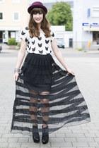 H&M skirt - H&M hat - H&M shirt
