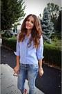 Zara-jeans-boyfriend-vintage-thrifted-shirt-meli-melo-sunglasses