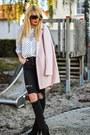 Black-h-m-boots-light-pink-sheinside-coat-black-ripped-h-m-jeans