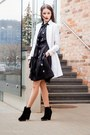 Black-zara-boots-black-ivo-nikkolo-dress-white-seppälä-coat