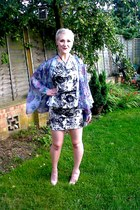 Topshop blouse - Primark dress