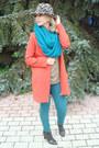 Turquoise-blue-zara-bag-carrot-orange-zara-coat-turquoise-blue-zara-jeans