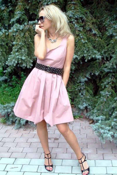 Black Mango Belts Black Dolcegabbana Shoes Light Pink Zara