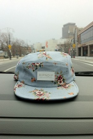 light blue ripndip clothing hat