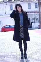 thrift coat coat - lace boots Chinese Brand boots