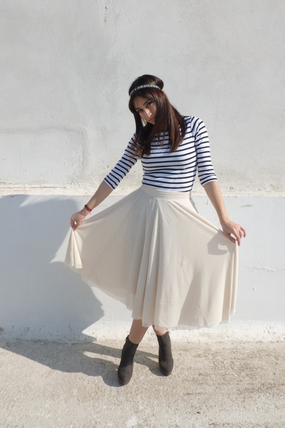 Blouse Tulle H&m Skirt