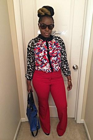 red Target shirt