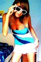 vintage swimwear - Ray Ban sunglasses - casio accessories - Oysho shorts
