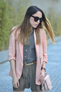 Light-pink-linen-forever-21-jacket-light-pink-crossbody-steve-madden-bag