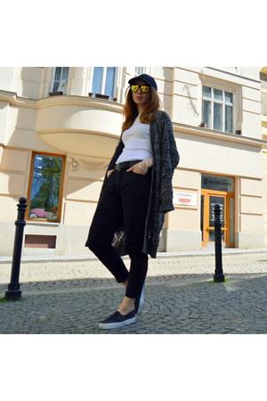 Primark shoes - Primark cardigan - Marks & Spencer pants