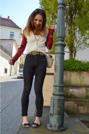 Sergio Taccini jacket - Zara shoes - H&M pants