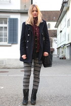 Primark shoes - Primark coat - Molleus bag - Primark pants - Primark vest