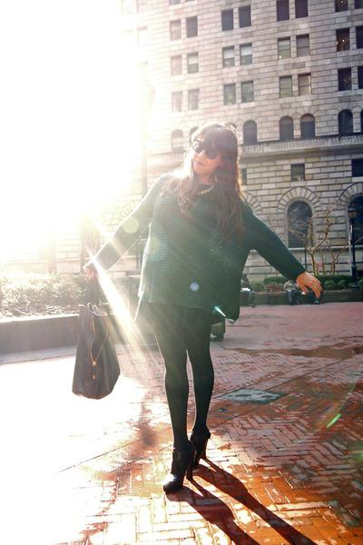 Zara sweater - Marc Jacobs heels