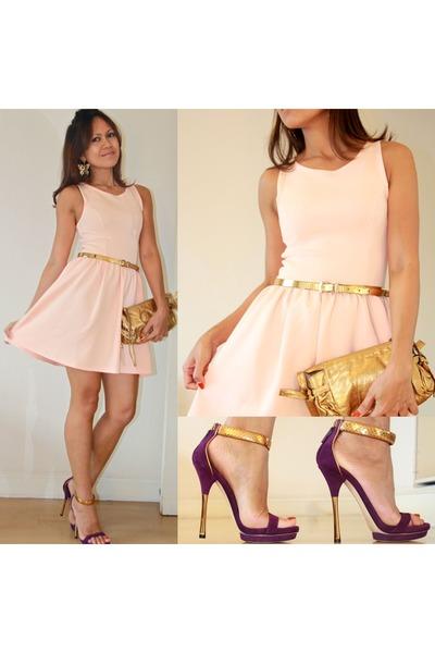 d53091ae2cc scuba H M dress - Gucci bag - Gucci heels - Mango belt