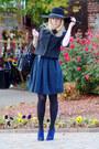 Blue-elie-tahari-shoes-navy-target-dress-dark-gray-target-hat