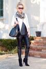 Dark-gray-ankle-boots-calvin-klein-boots
