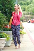 Ripani bag - Forever 21 pants - Mexx blouse - sandals - Mexx top
