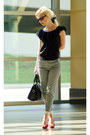 Black-london-fog-bag-black-ralph-lauren-top-heather-gray-h-m-pants