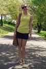 Bag-charcoal-gray-zara-shorts